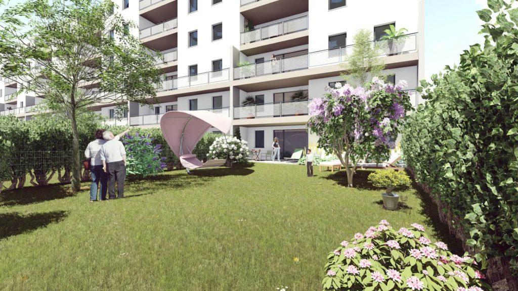 Schwechat atlas Stadtgarten Garten 01